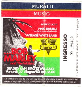 Concerto Bob Marley San Siro