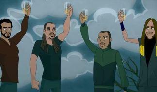 TOK insieme a Junior Reid e Maino nel nuovo video animato di Pour Some Liquor