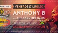 È Anthony B il secondo artista annunciato alBababoom Festival 2015. Dopo la conferma degli Iration Steppas che saranno il 18 luglio nell'area dub, il giamaicano è il primo nome che […]