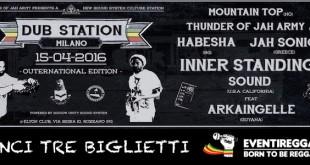 Dub Station Milano: vinci 3 biglietti per il concerto con Inner Standing & Arkaingelle