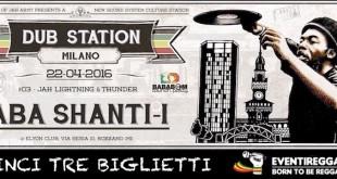 Dub Station Milano: vinci 3 biglietti per il concerto di Aba Shanti I