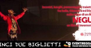 Negus al cinema: vinci 2 biglietti per la proiezione a Milano