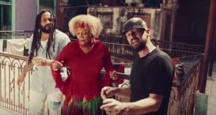 Gentleman, Ky-Mani Marley e Marcia Griffiths nel videoclip di Simmer Down