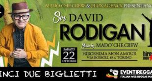 Contest David Rodigan: in palio due biglietti per il concerto di Torino