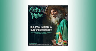Per Cedric Myton c'è Rasta Need a Government